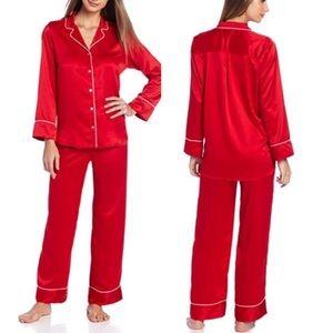NWT Natori Private Luxuries Silky Pajama Sleep Set